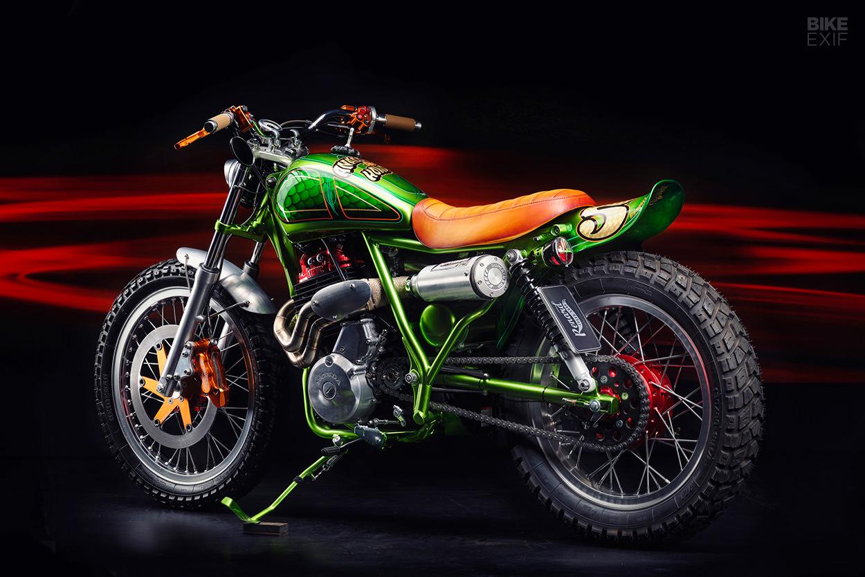Custom Honda XBR500 by Renard Speed Shop