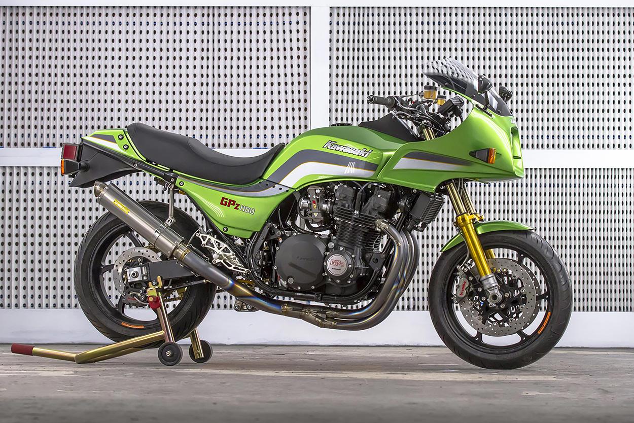 Kawasaki GPz1100 restomod by dB Customs