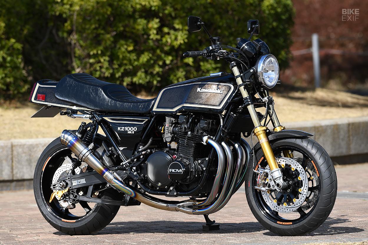 Kawasaki KZ1000 restomod by AC Sanctuary