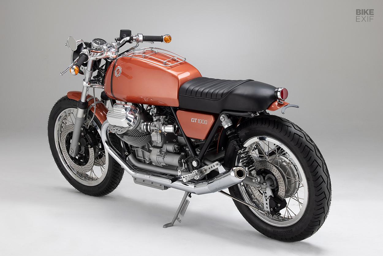 Moto Guzzi 850T4 tourer by Kaffeemaschine