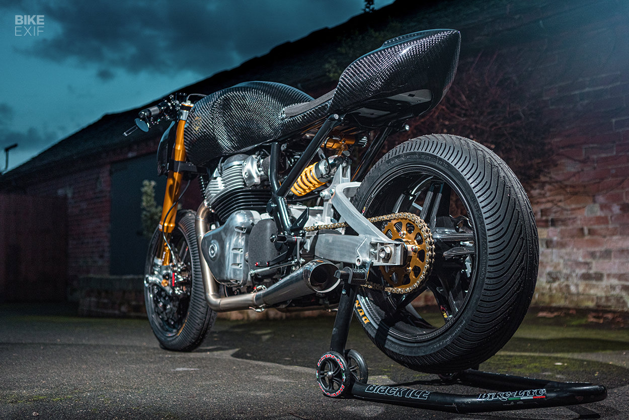 Royal Enfield Continental GT 650 by Goblin Works' Anthony Partridge