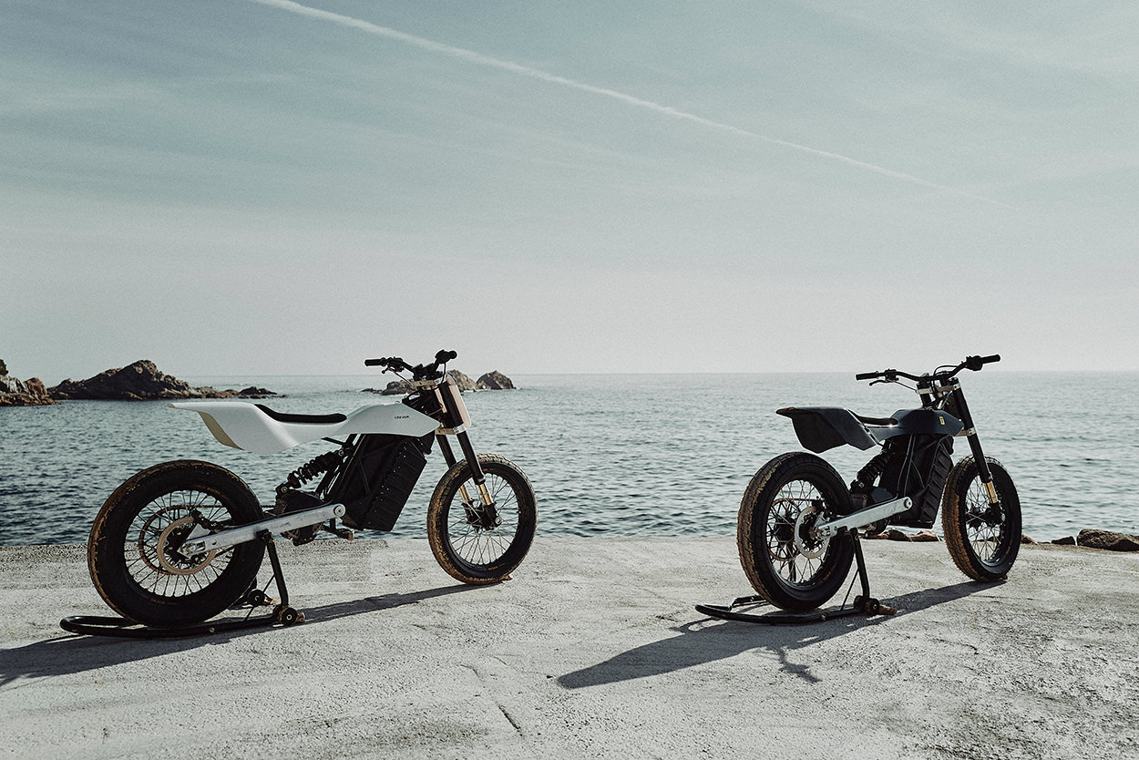 Trevor DTRe Stella electric motorcycle