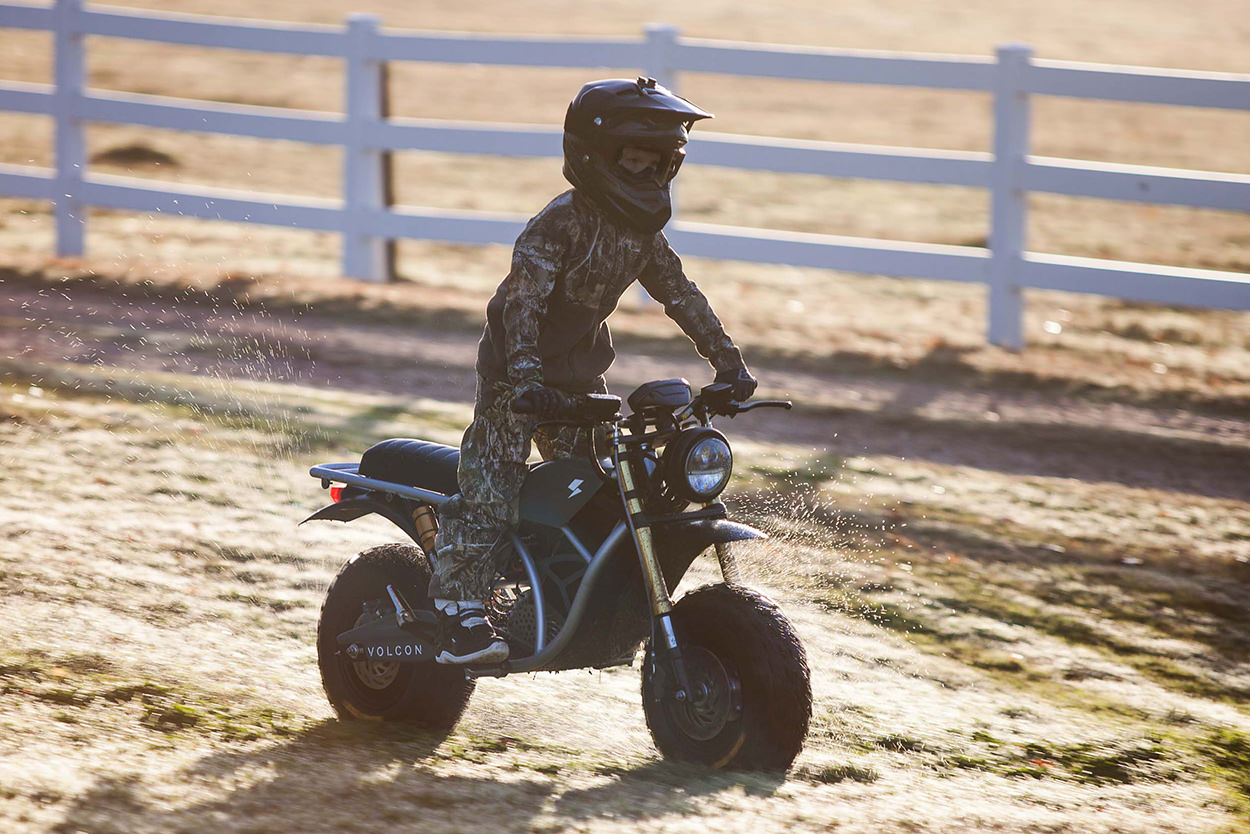 Volcon Runt electric kid's motorcycle