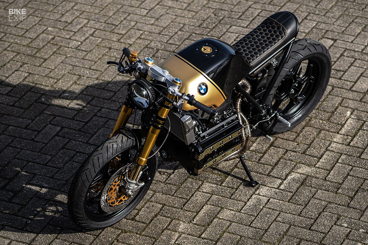 Mutant: A BMW K100 cafe racer by Ironwood