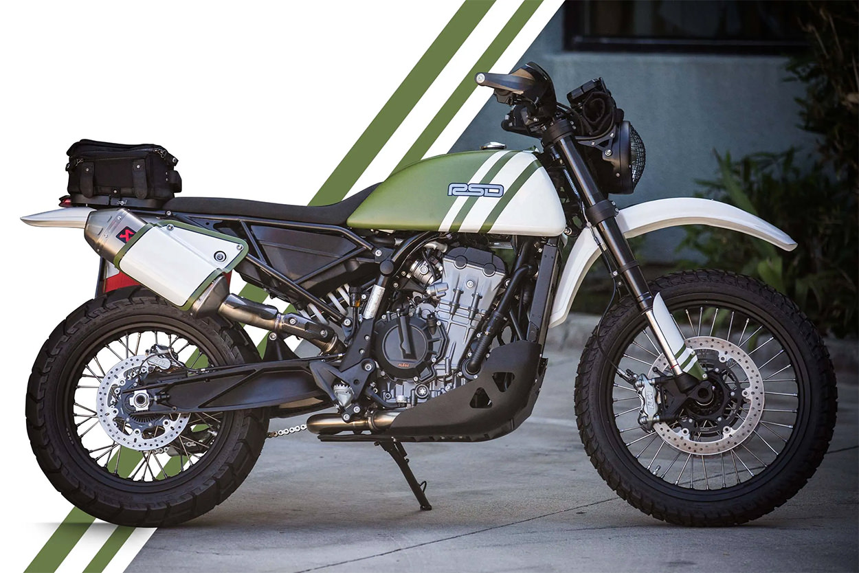 Custom KTM 790 by Roland Sands