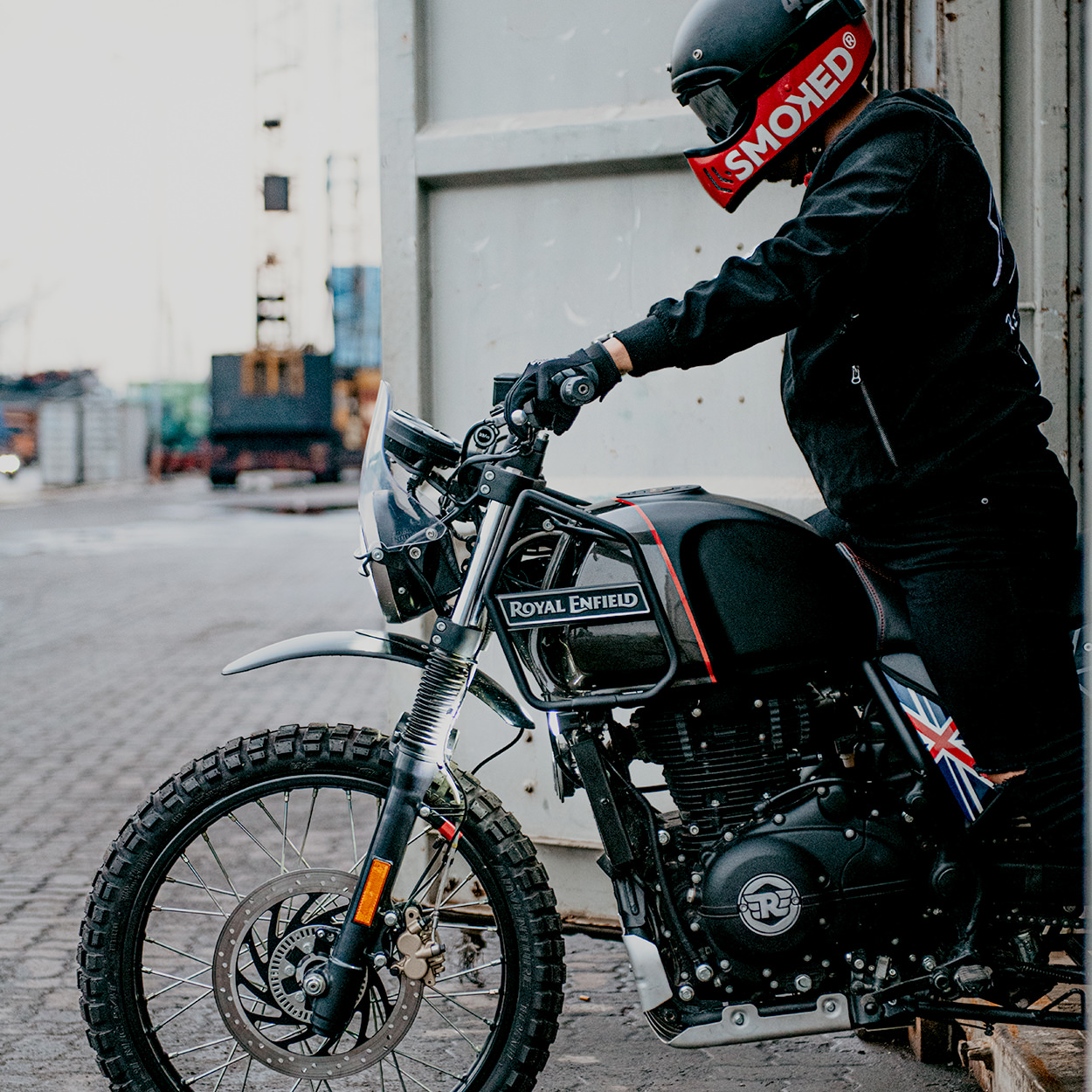 Custom Royal Enfield Himalayan
