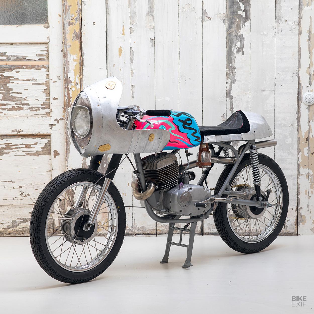 CZ 175 cafe racer by GarageBoss