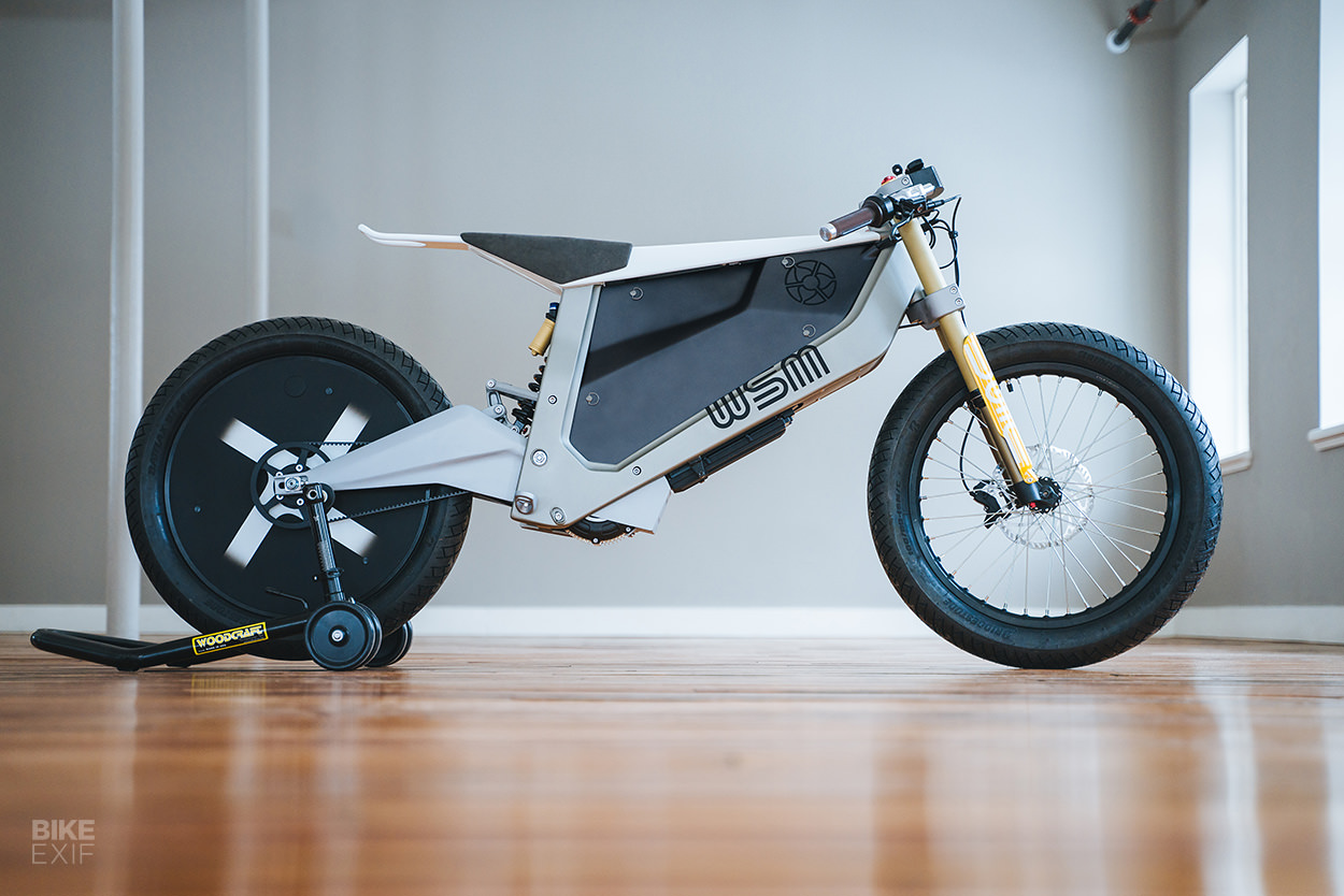 Electric motorcycle concept by Walt Siegl Motorcycles