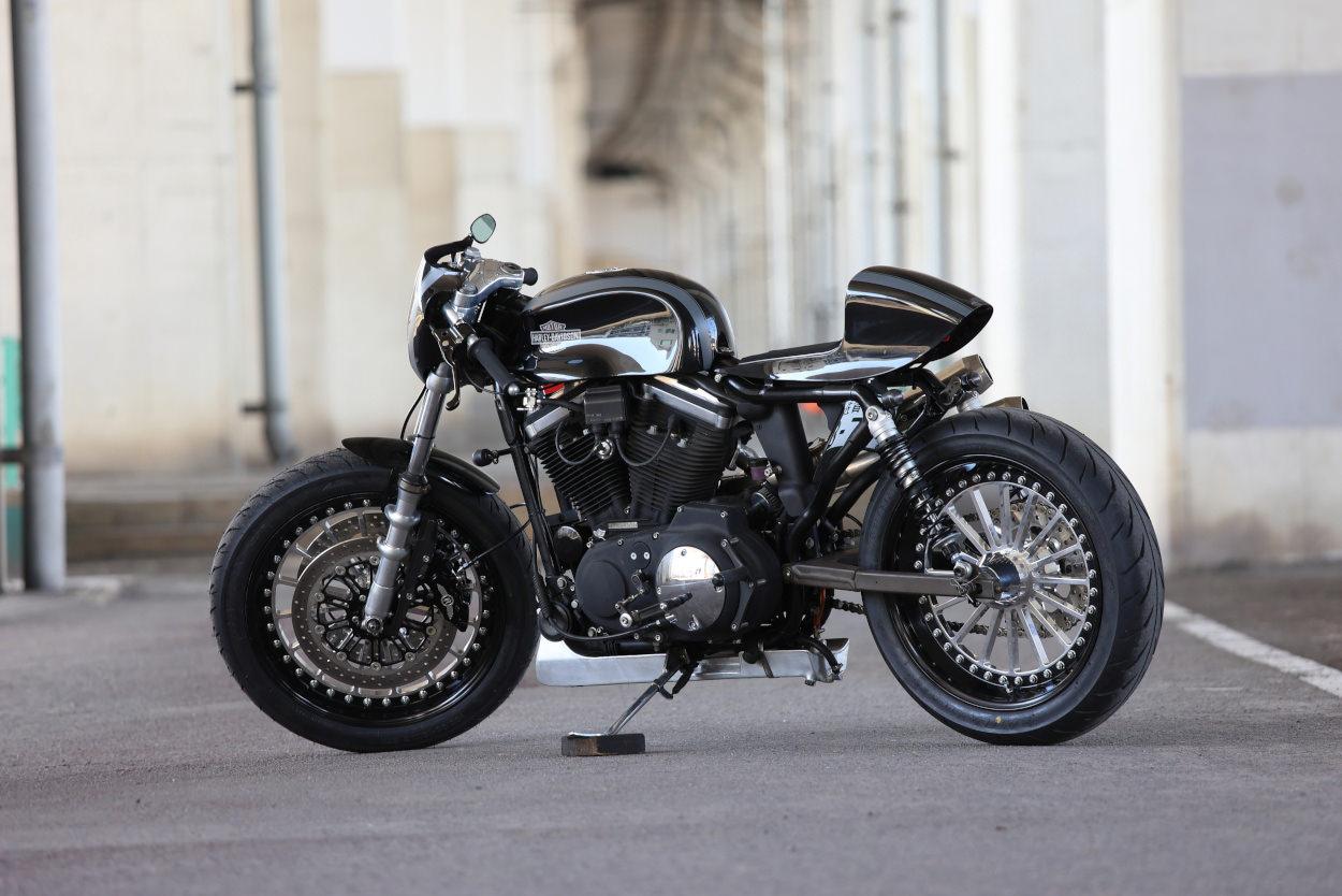 Harley-Davidson Sportster cafe racer by Hide Motorcycle