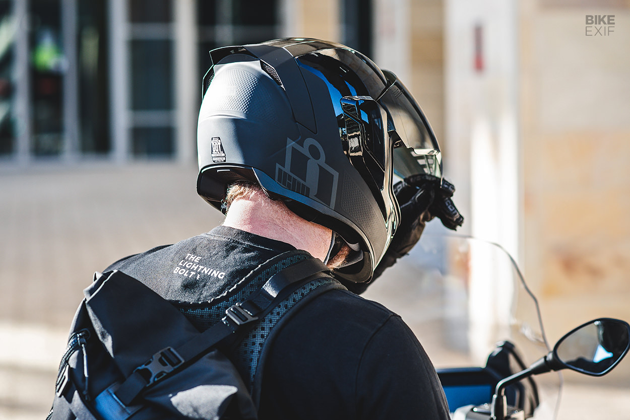 Icon 1000 Airflite MIPS Stealth helmet