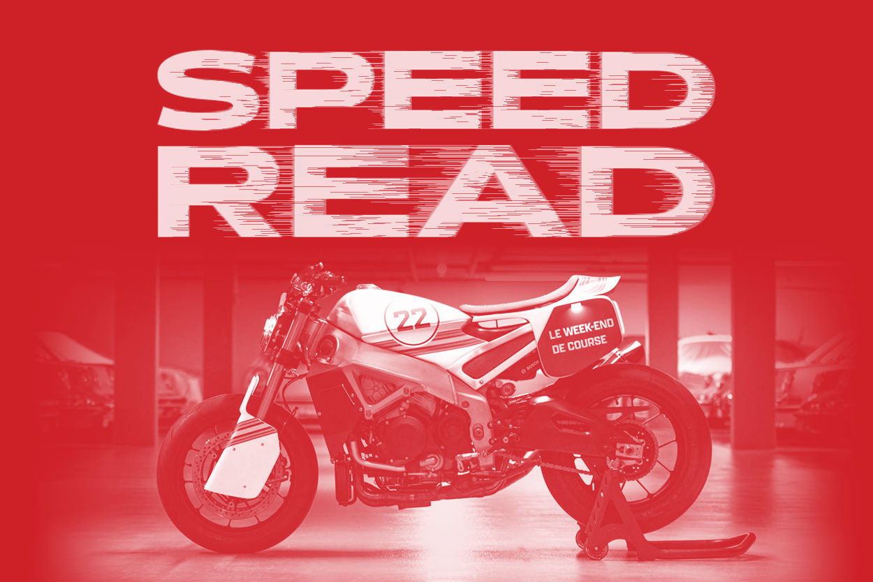 The latest motorcycle news and customs