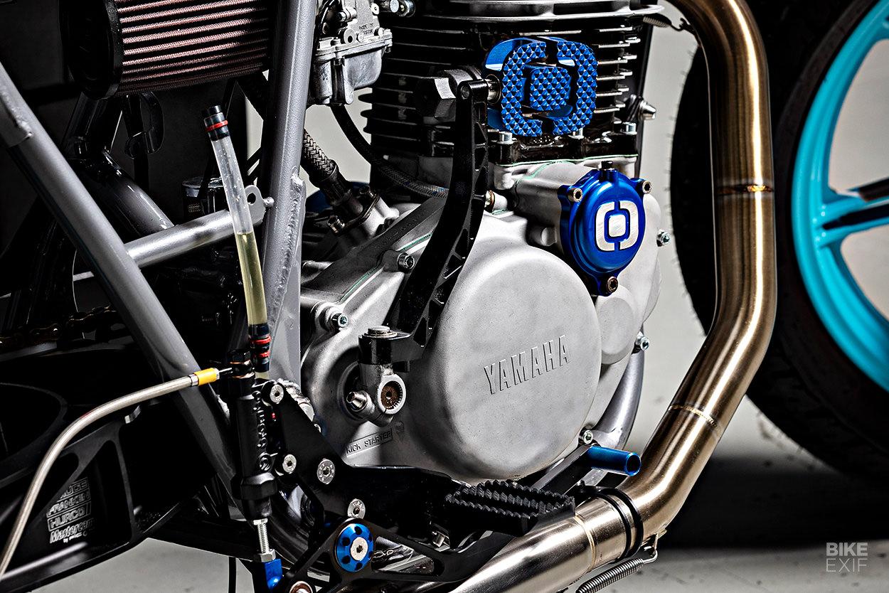 Yamaha SR500 flat tracker by Hurco