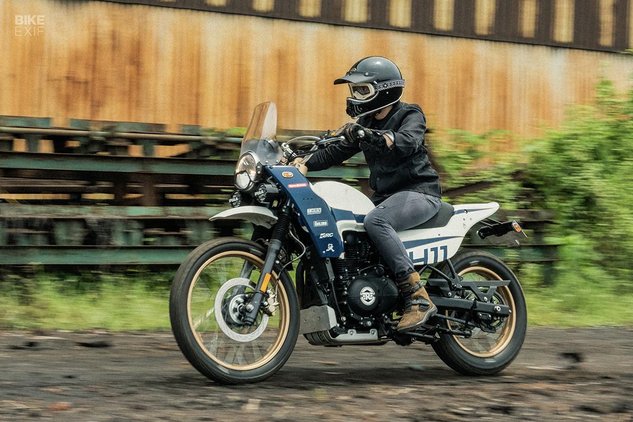 Custom Royal Enfield Himalayan by Thrive Motorcycle