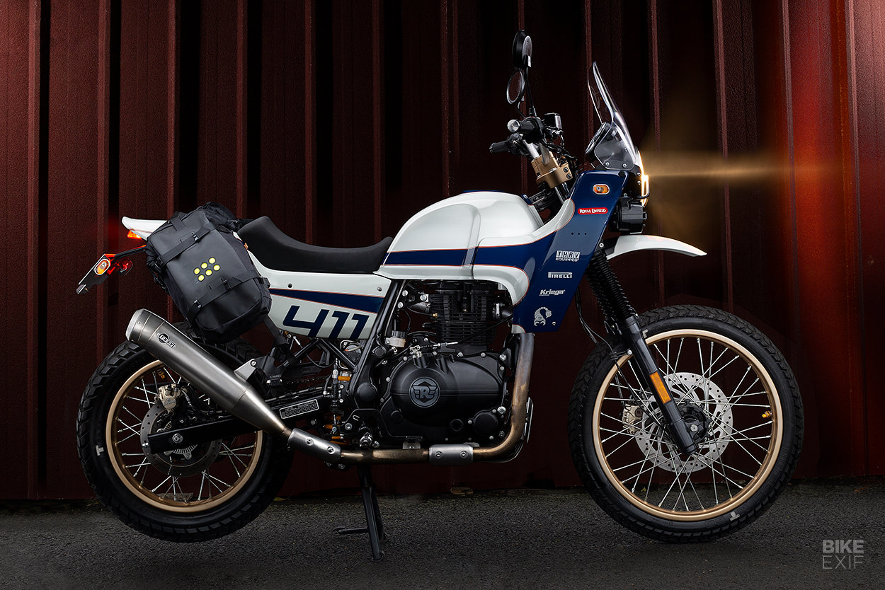 Custom Royal Enfield Himalayan by Thrive Motorcycle