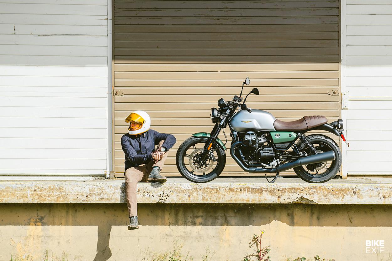 Review: The 2021 Moto Guzzi V7 Stone