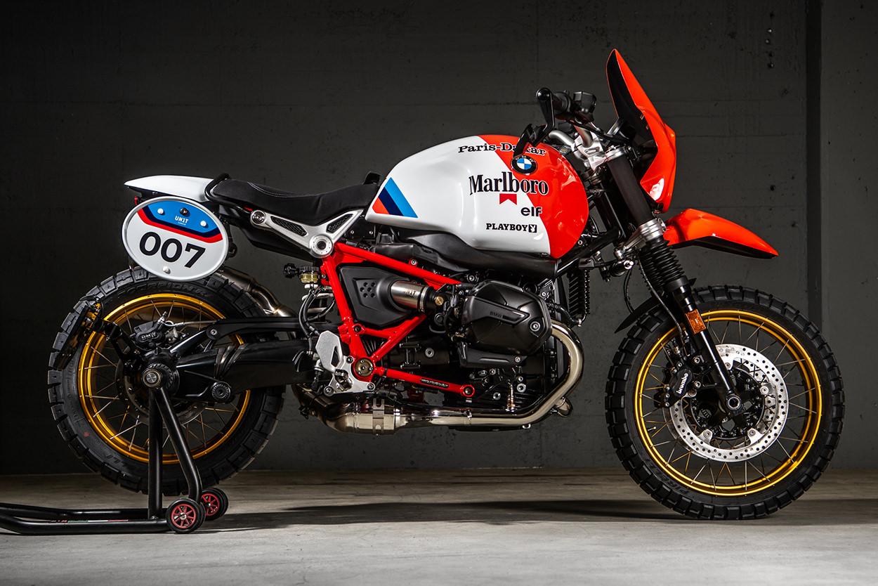Custom BMW R nineT Paris-Dakar by VTR