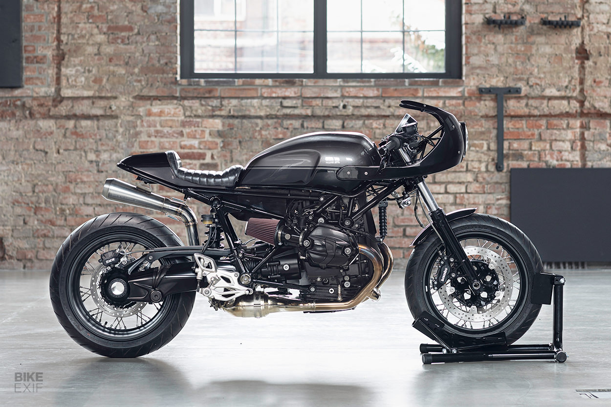 BMW R nineT cafe racer by Gas & Oil Bespoke Motorcycles