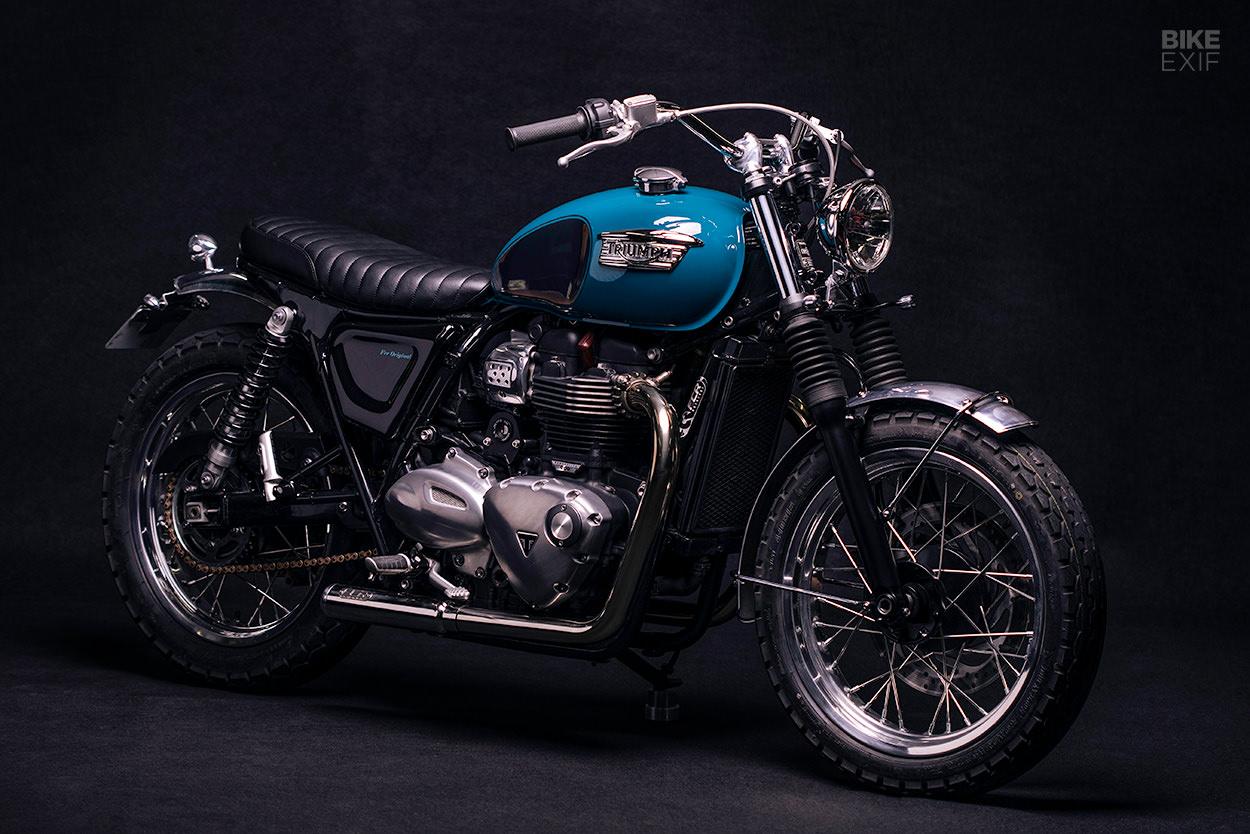 Custom Triumph Street Twin by FCR Original