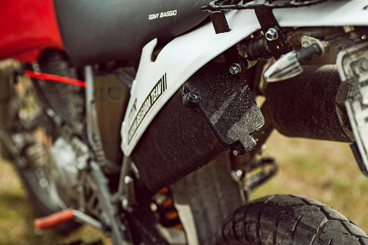 Custom Yamaha TT600R restomod