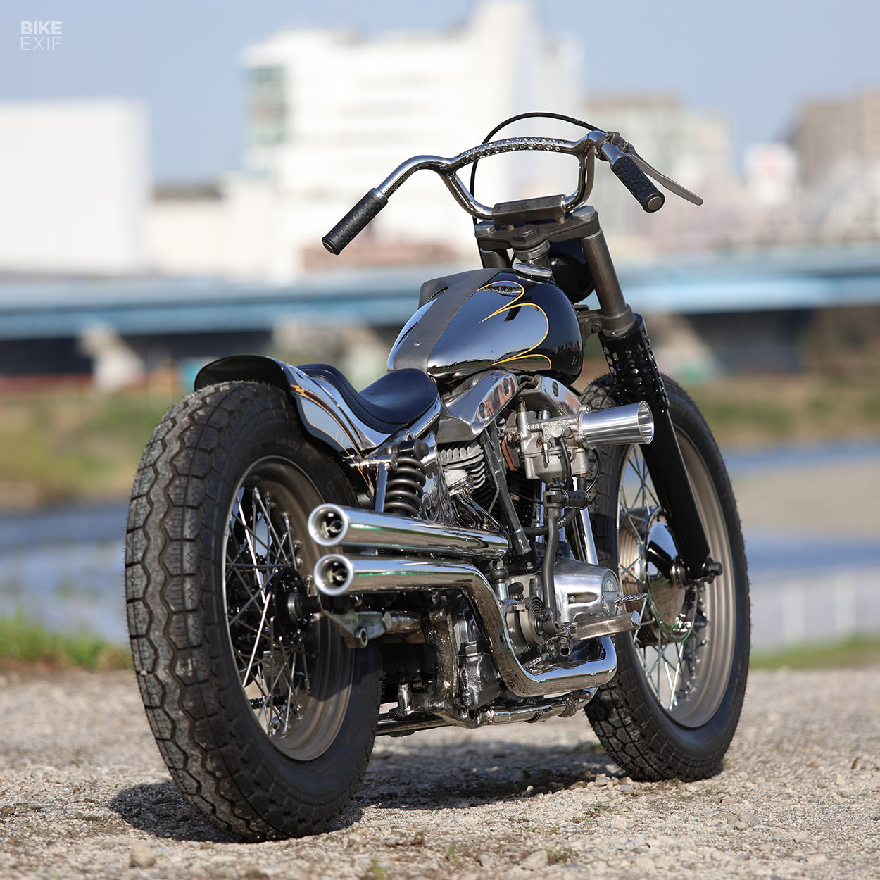 1970 Harley-Davidson FLH Shovelhead by Hide Motorcycle