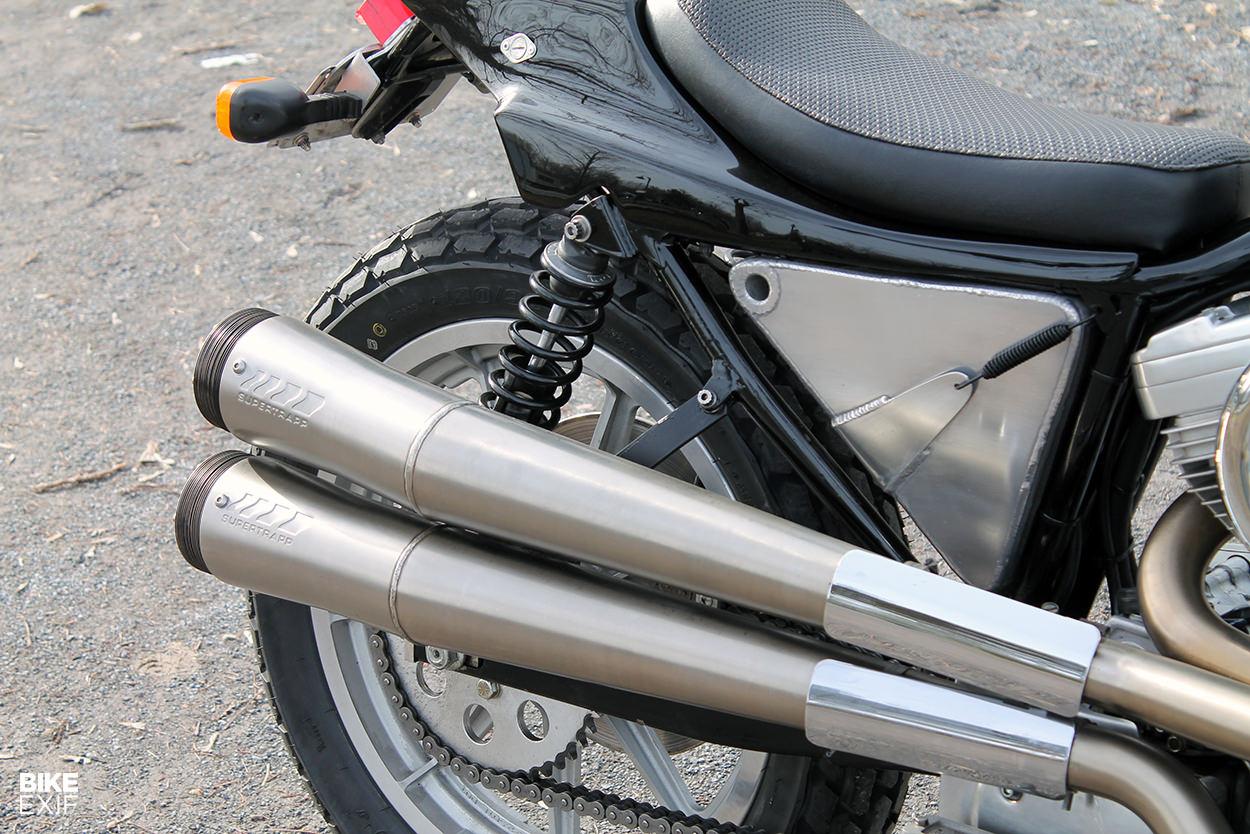 Localizador Harley-Davidson XR750 personalizado legal en la calle