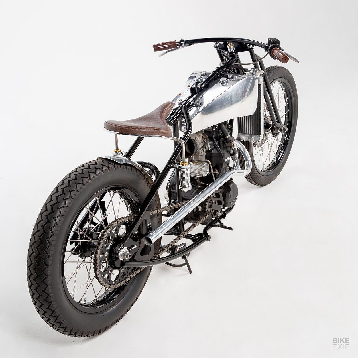 Custom KTM 620 Enduro bobber by Machine 1867