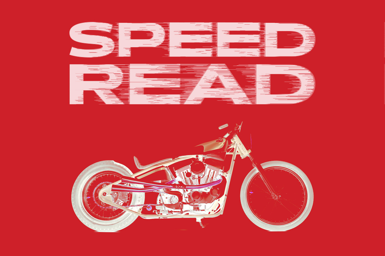 The latest motorcycle news, customs and videos