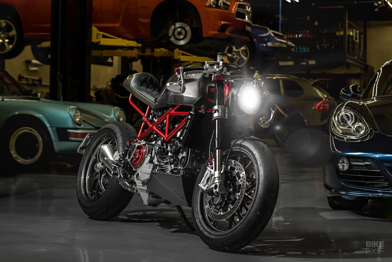 Ducati Monster S4RS Cafe Racer de SR Corse