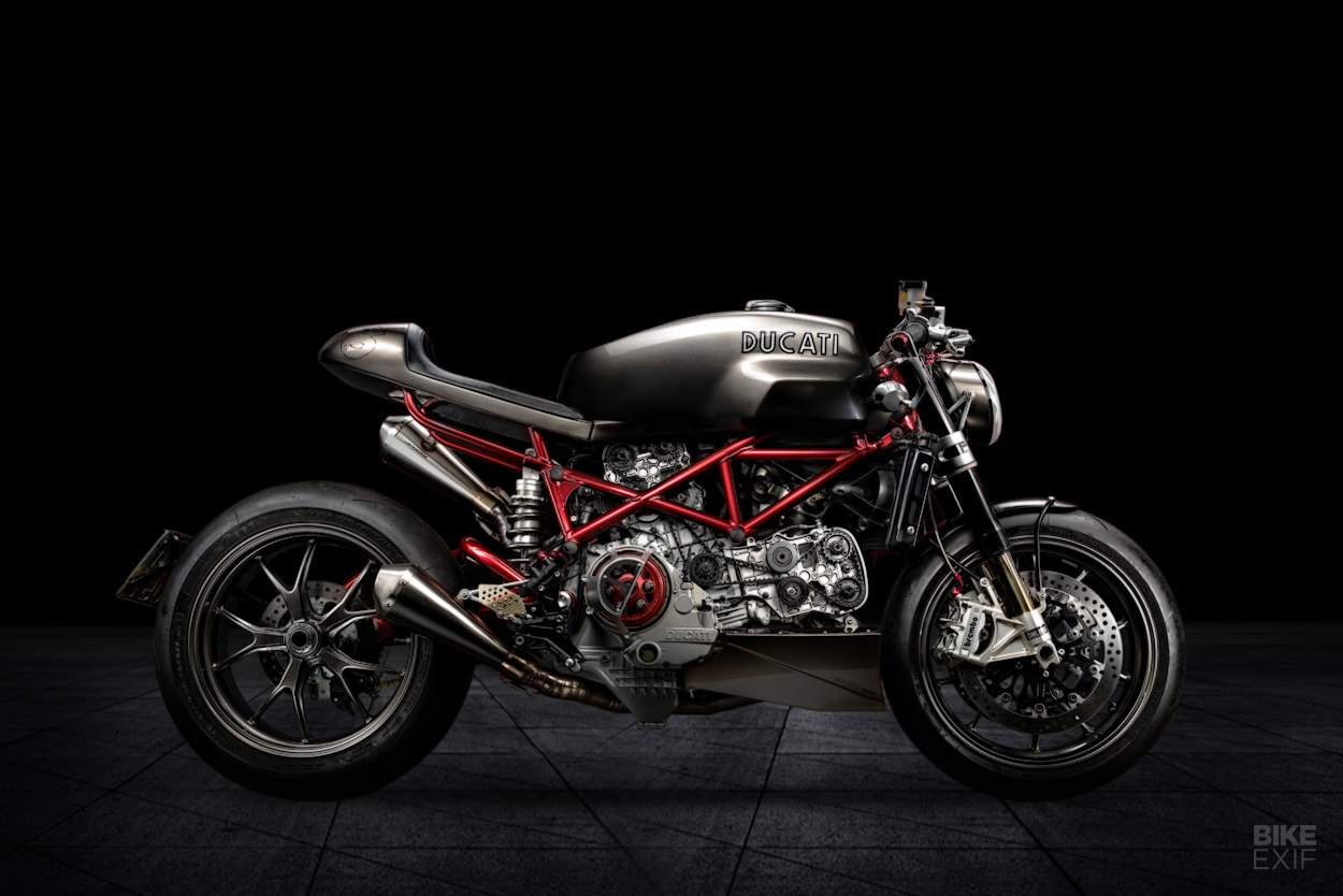 Ducati Monster S4RS cafe racer by SR Corse