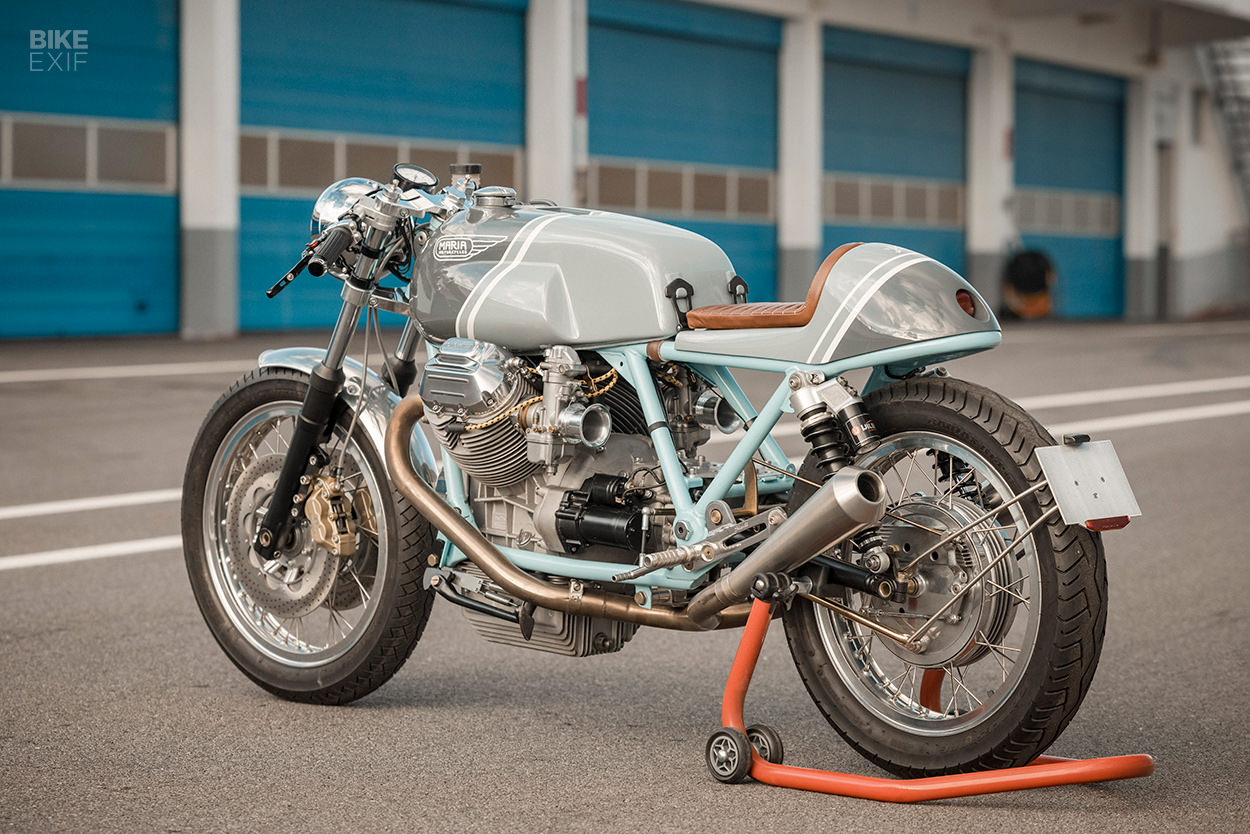 Custom Moto Guzzi Le Mans cafe racer by Maria Motorcycles