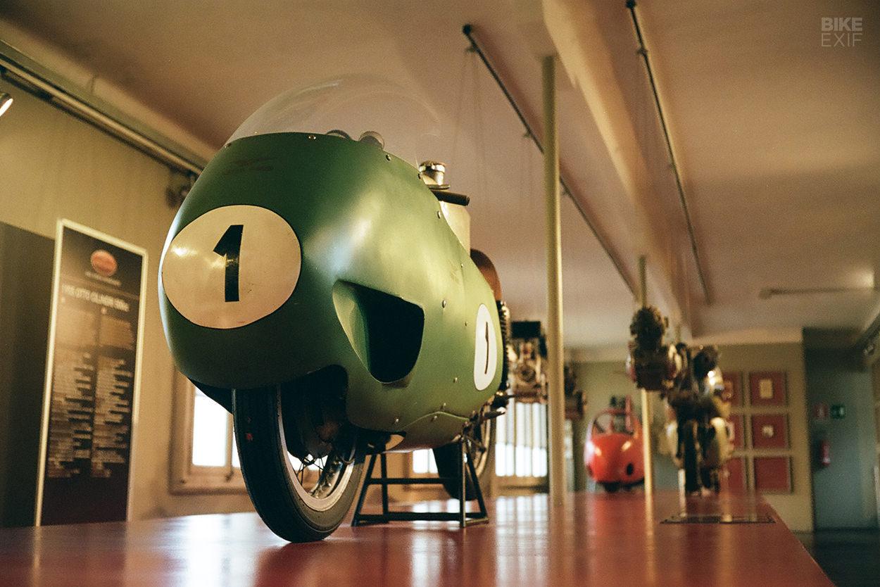 The Moto Guzzi V8 'Otto' designed by Giulio Cesare Carcano