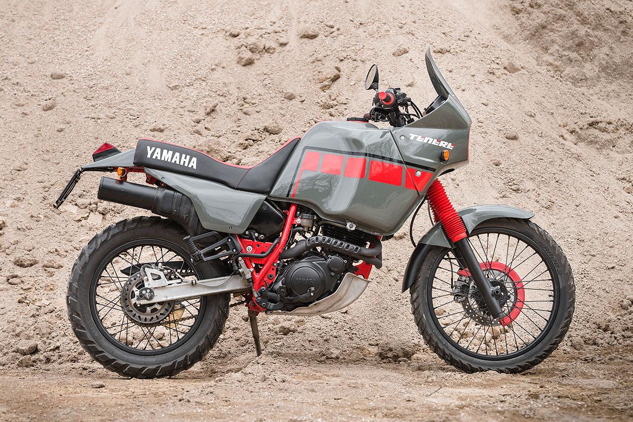 Yamaha XT600 Ténéré 3AJ by North East Custom