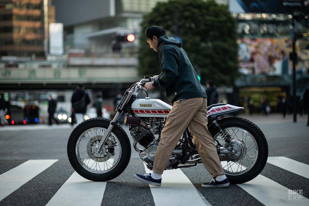 Custom Yamaha XV750 Special flat track replica