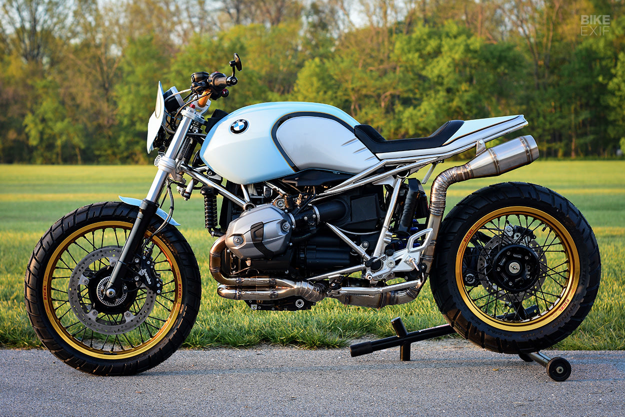 Custom BMW R nineT by Parr Motorcycles