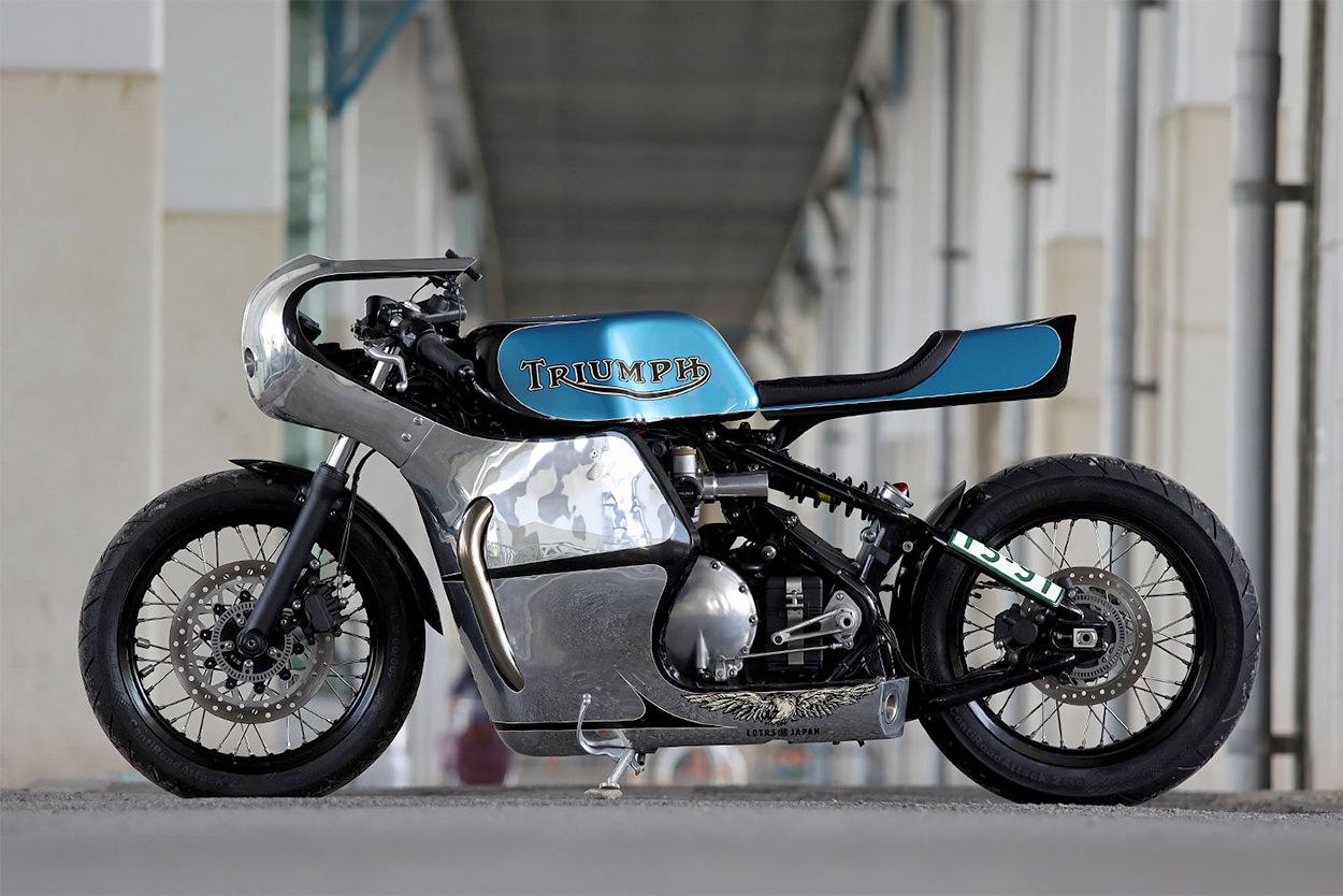 Custom Triumph Bobber by Hidemo