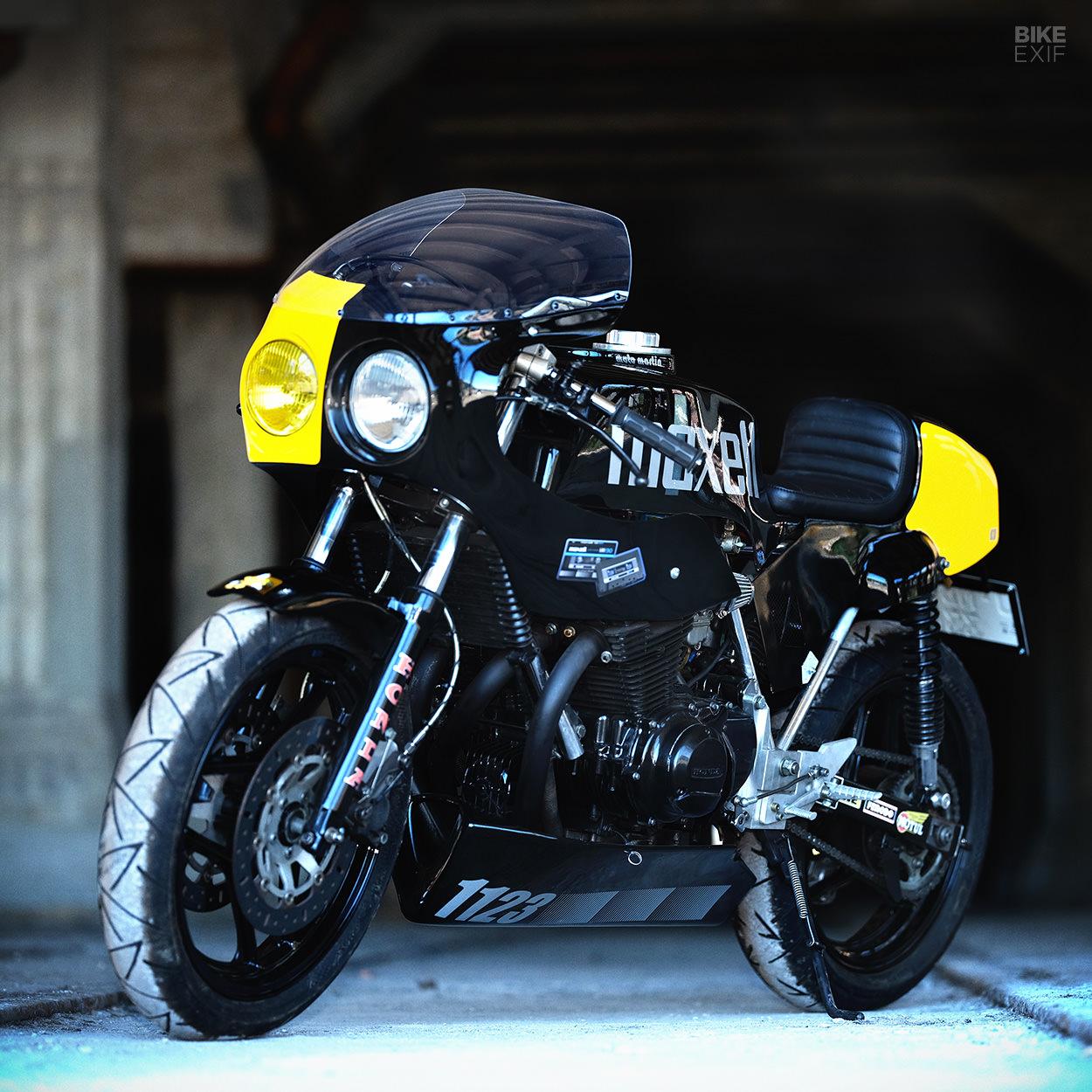 Honda-powered Moto Martin endurance race bike