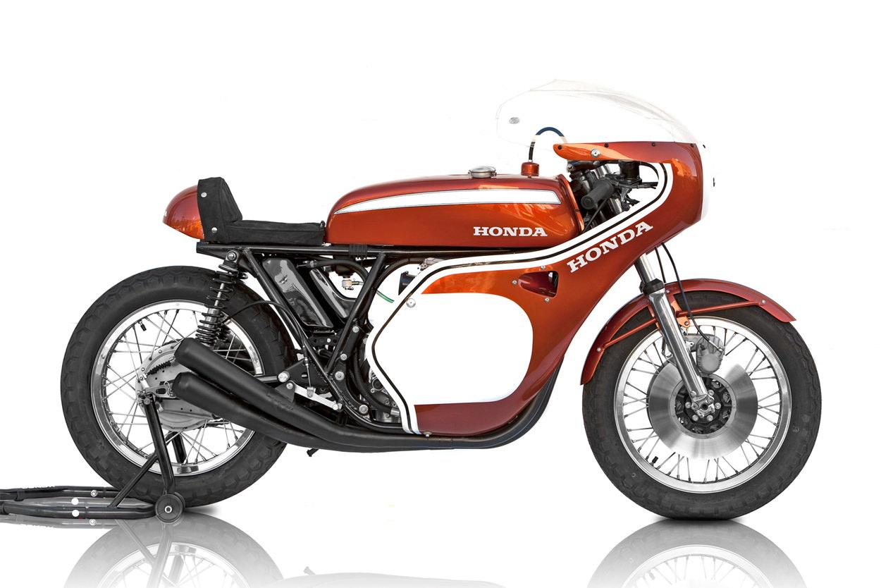 Dick Mann Honda CB750 replica
