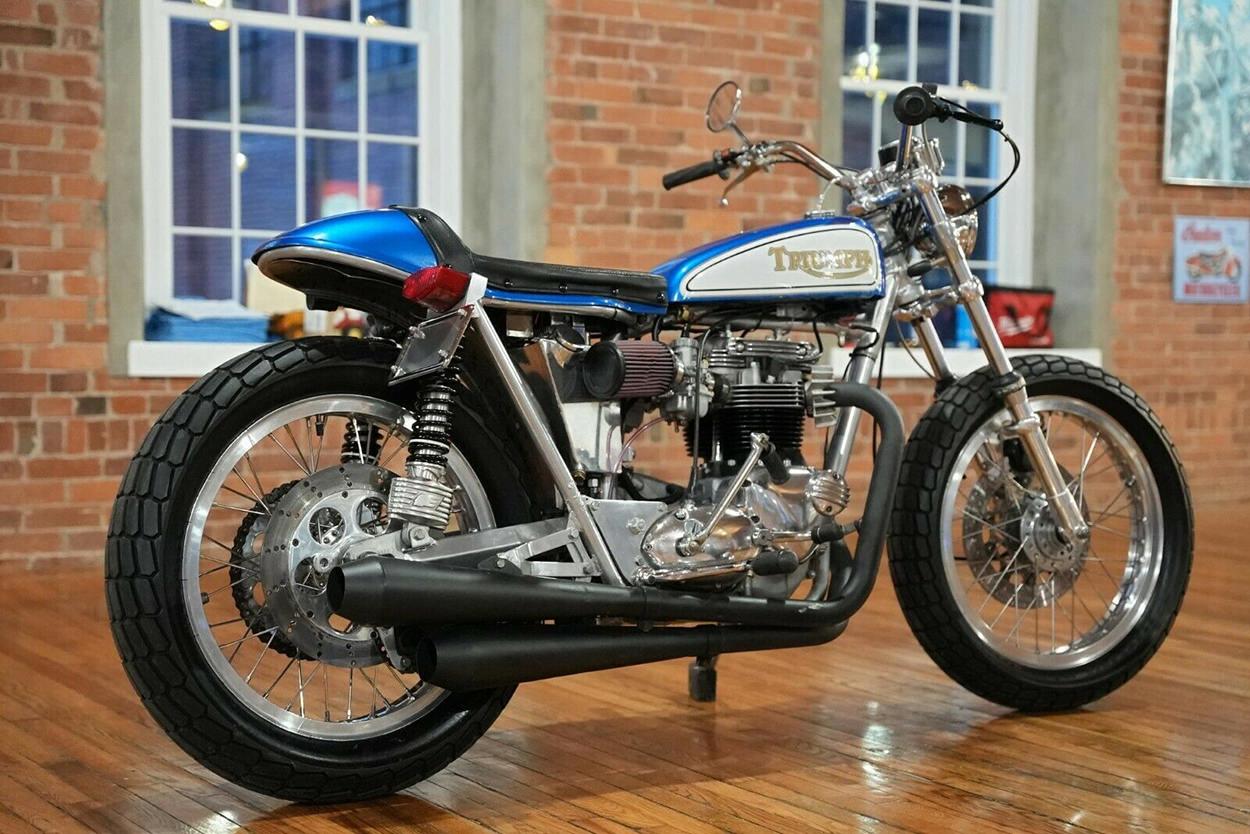 Sold: Gene Romero's 1968 Triumph T120R