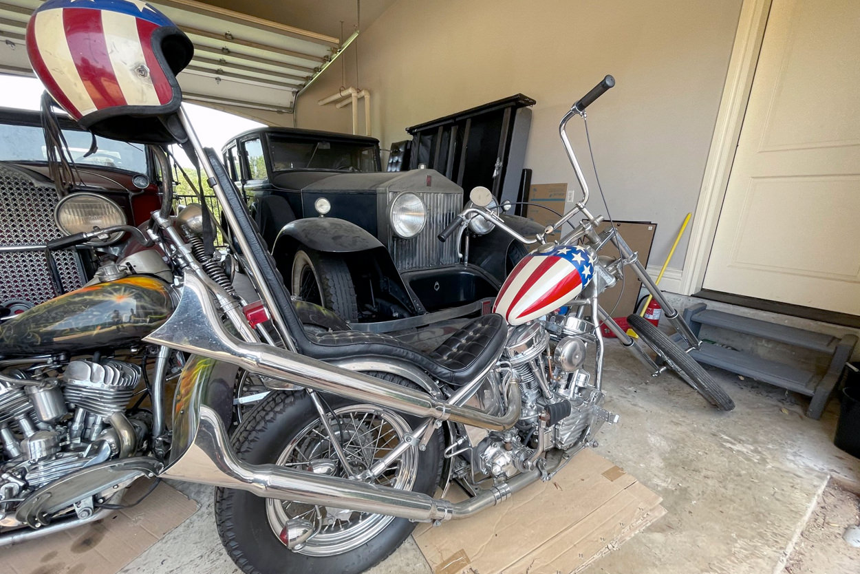 Up for auction: The Captain America motorcycle