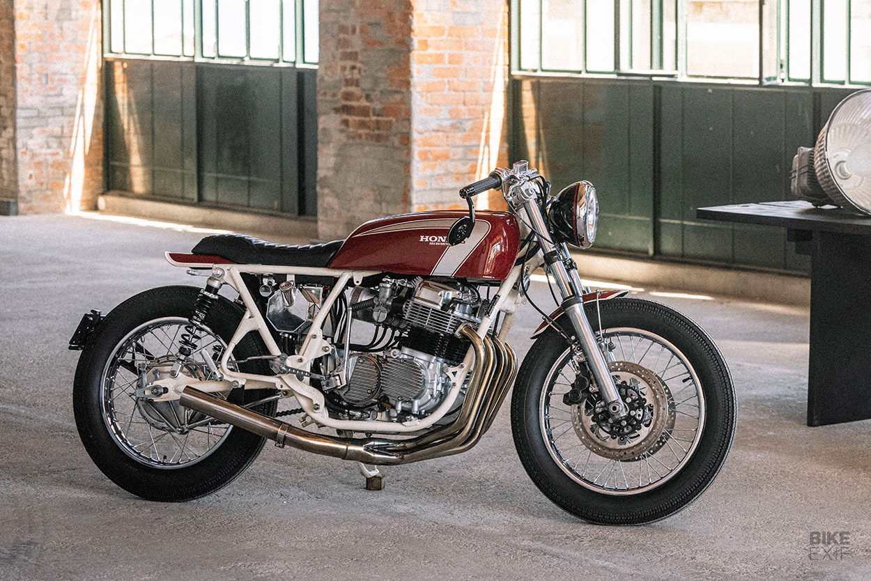 Custom Honda CB750 cafe racer by Unik Edition