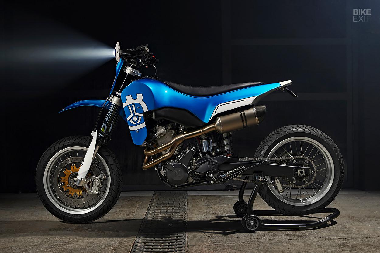 Custom Husqvarna SM 630 by Freeride Motos