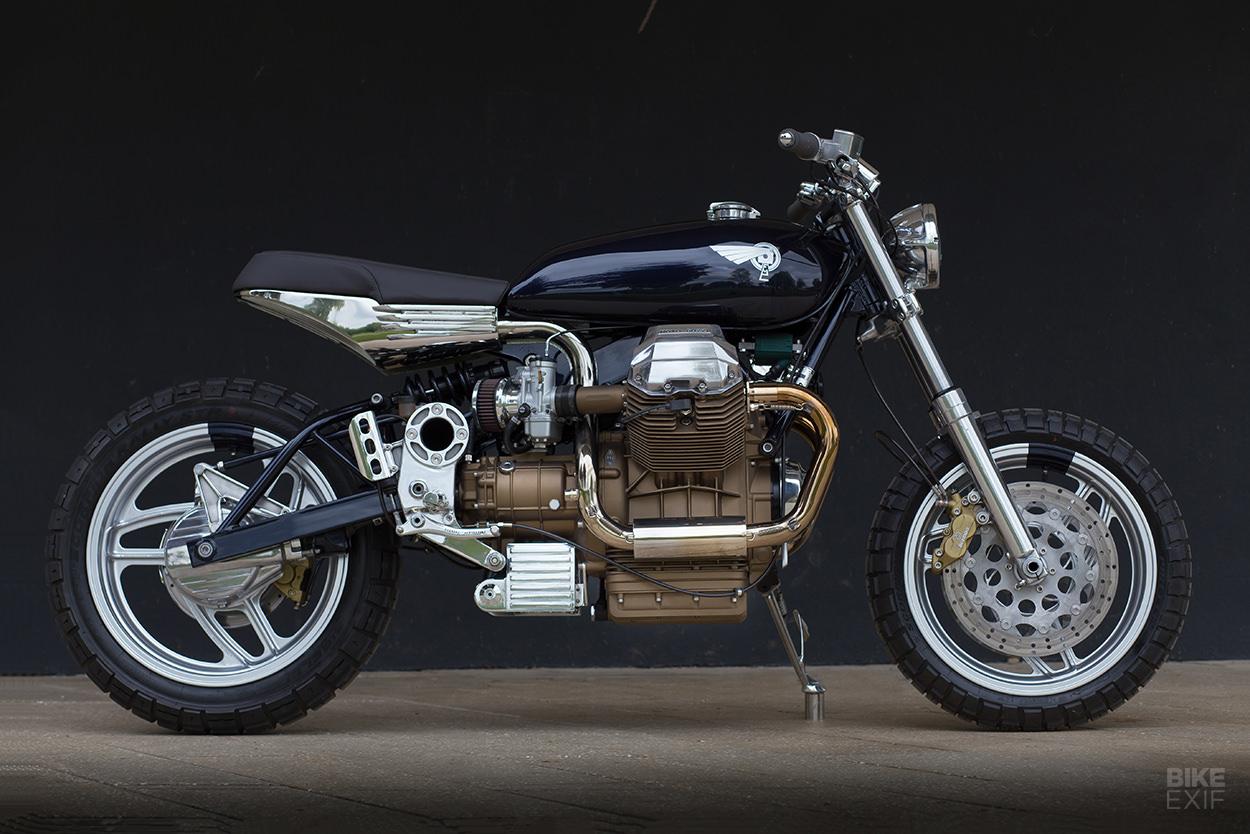 Moto Guzzi 1100 Sport street tracker by Foundry Motorcycle