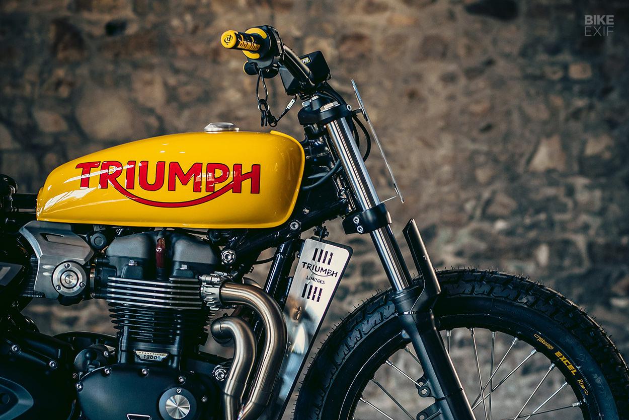Triumph Speed Twin flat tracker by Triumph Limoges