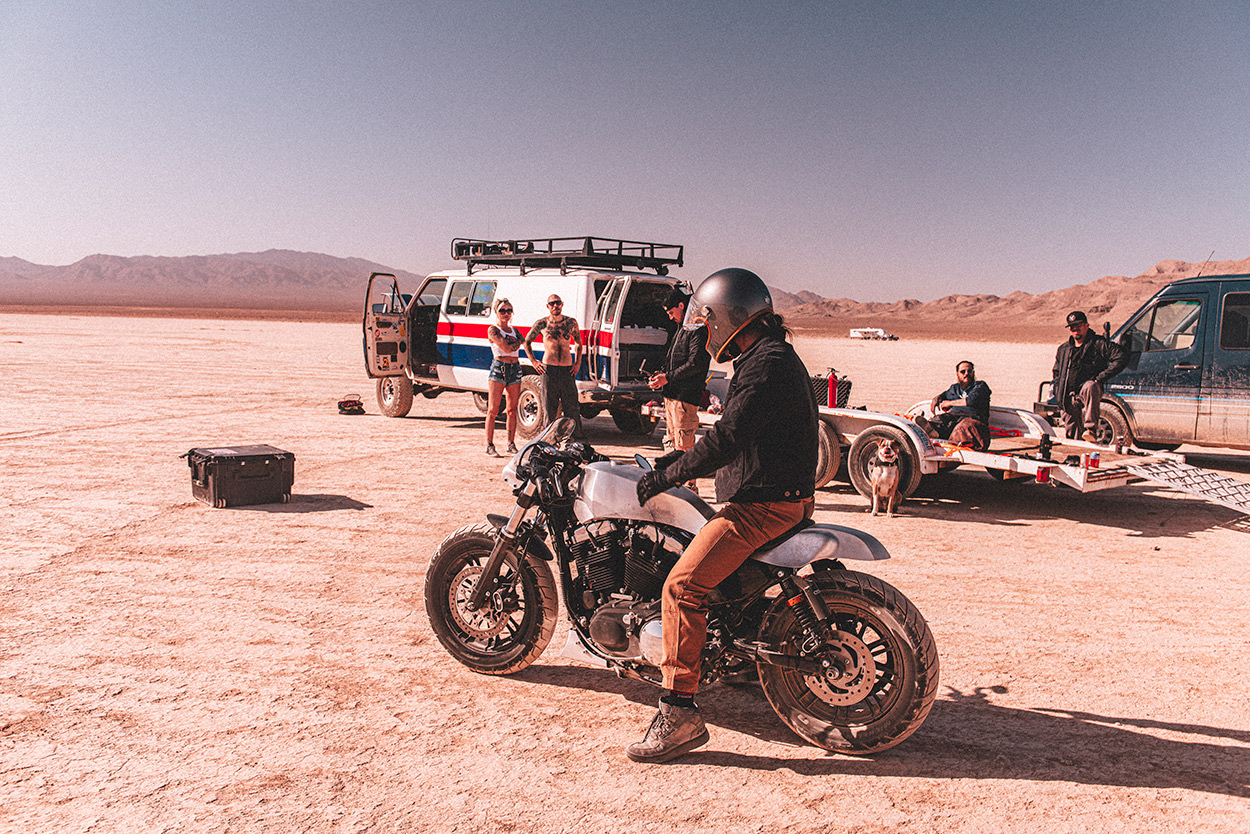 Win a custom Harley Sportster in the Waves For Water giveaway