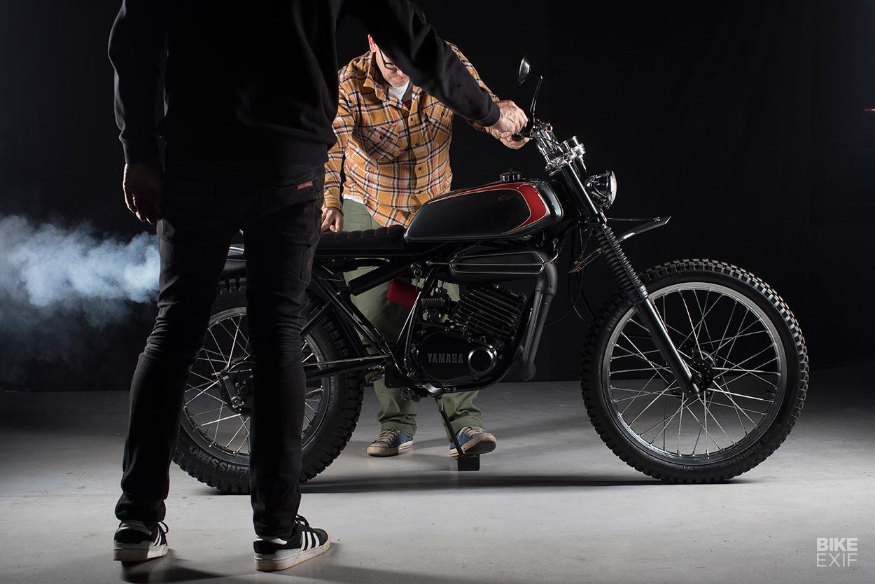 Yamaha DT175 restomod by Sabotage Motorcycles