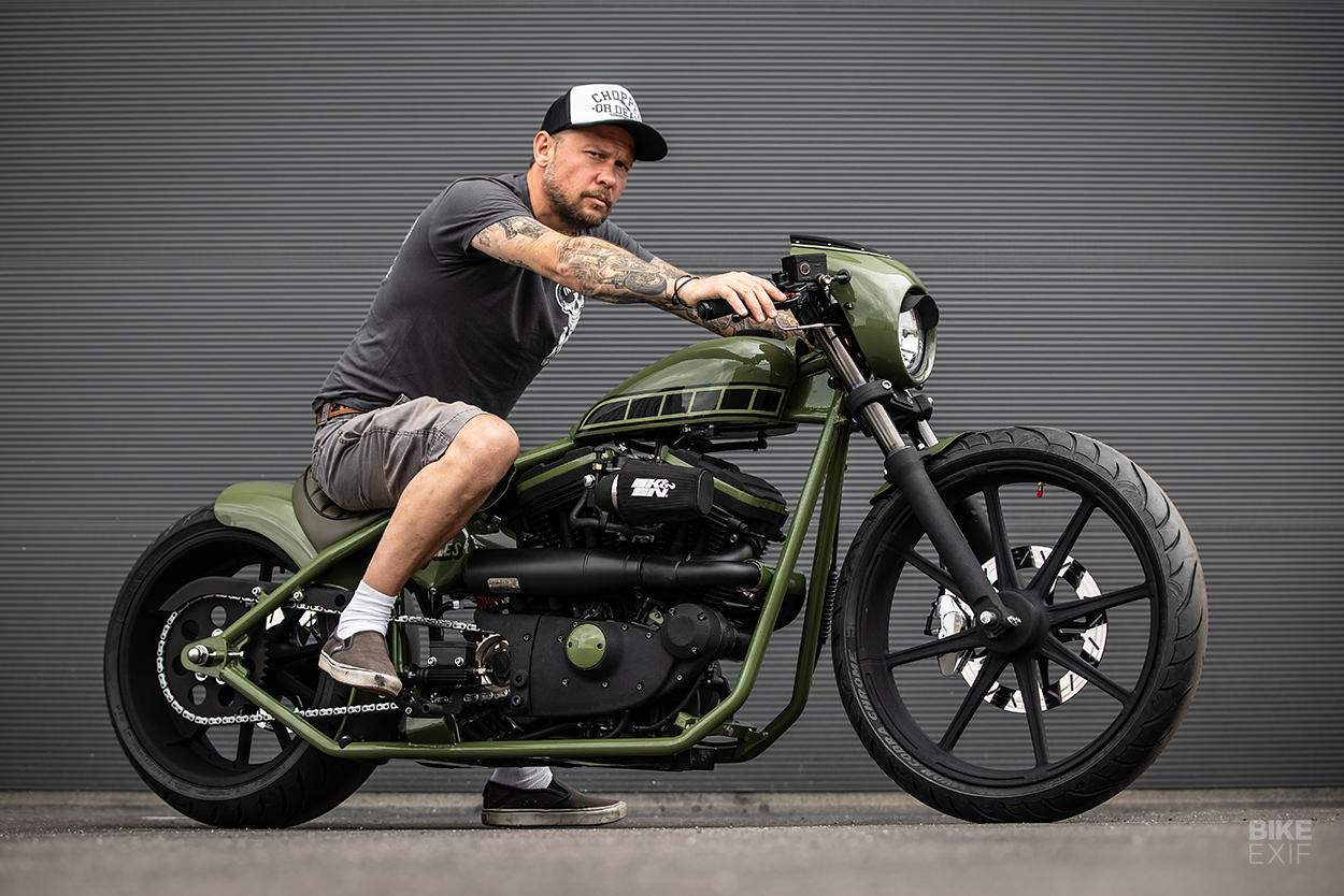 Custom Buell Cyclone hardtail by MB Cycles