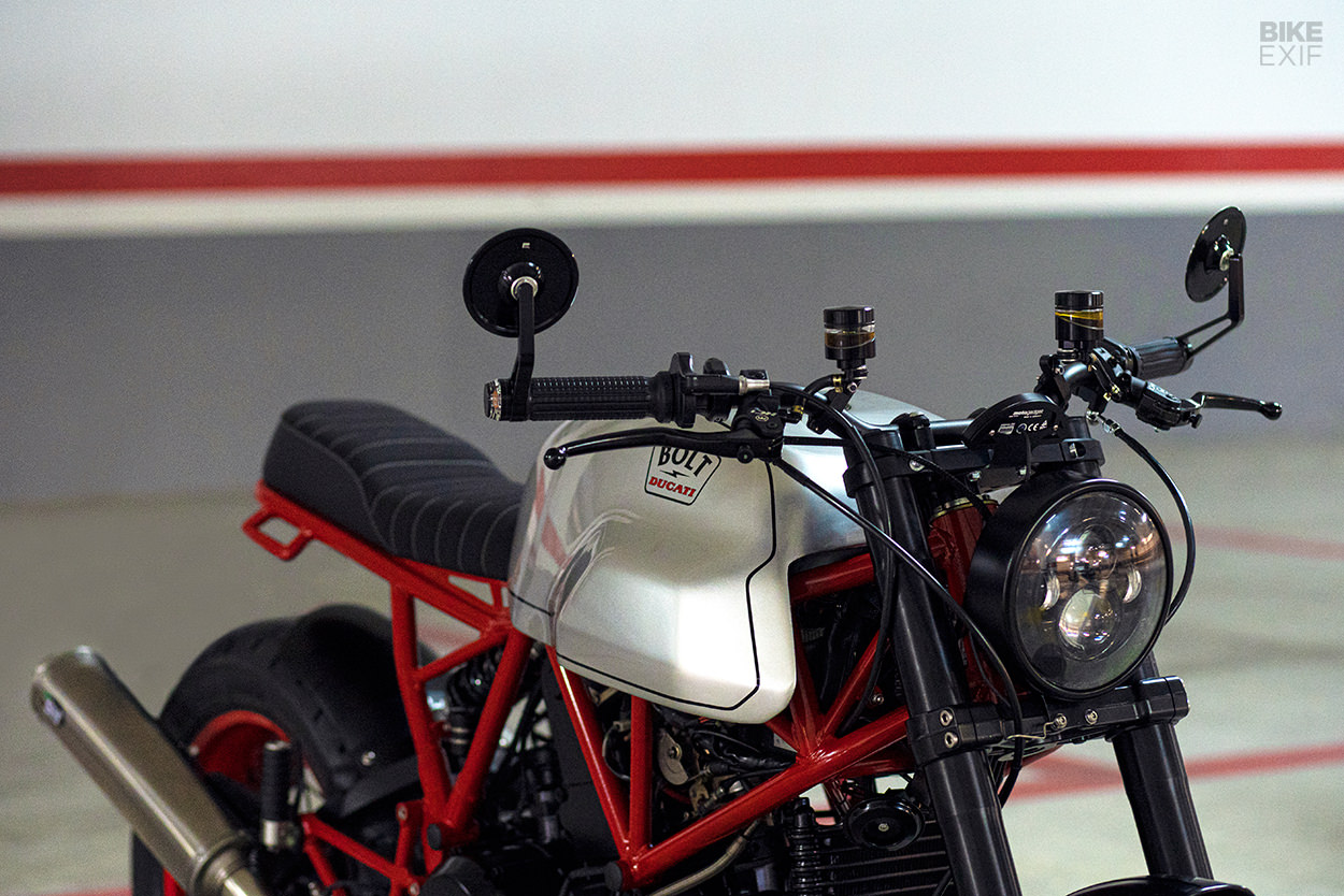 Custom Ducati 750 SS cafe racer by Bolt Motor Co.
