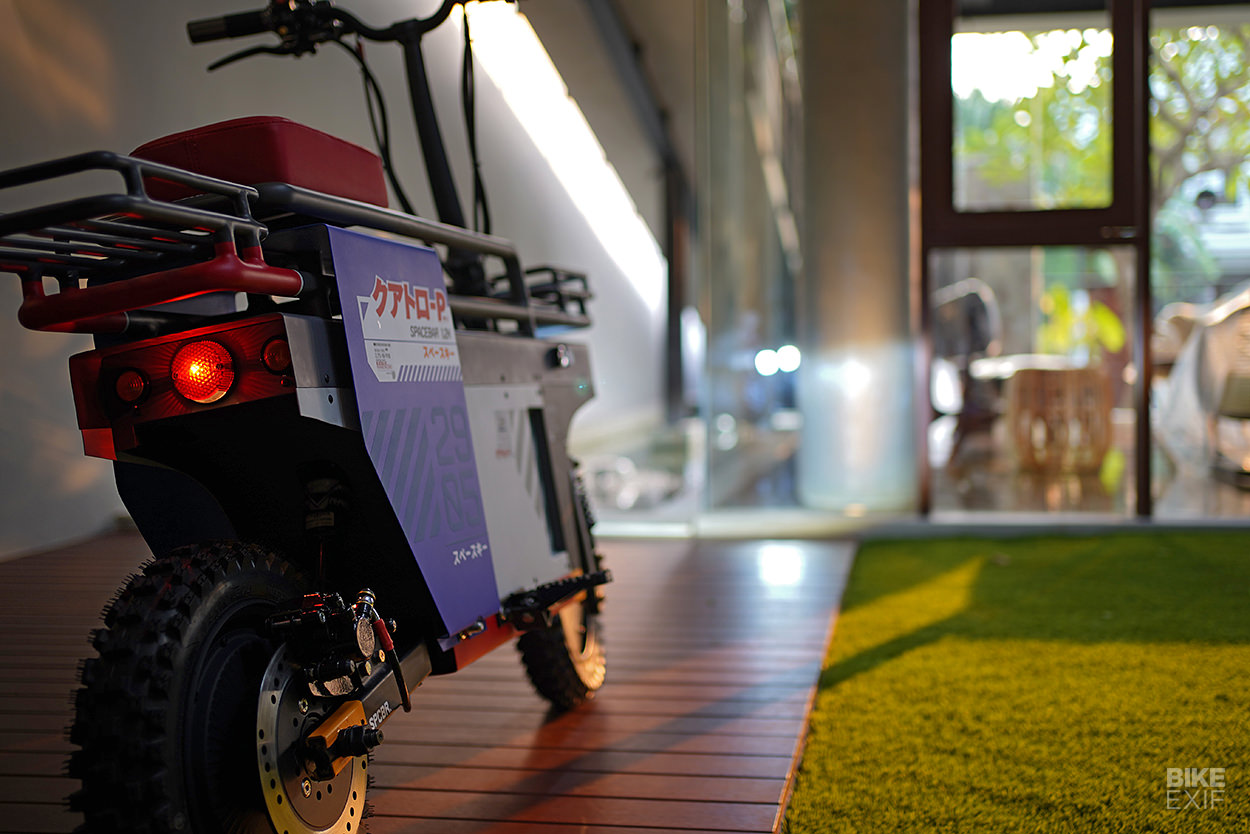 Spacebar: An electric scooter bike by Katalis