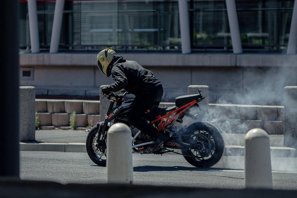 Icon 1000 Drift & Destroy stunt video