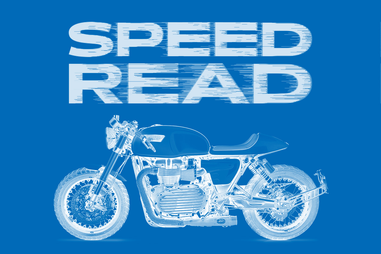 The latest motorcycle news, custom bikes and shows